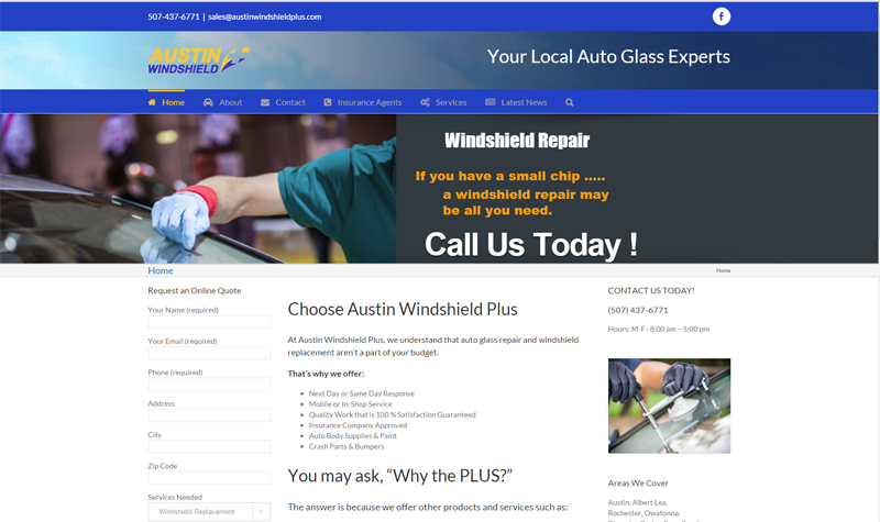 Austin Windshield Plus